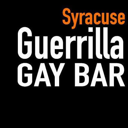 Syracuse Guerrilla Gay Bar logo